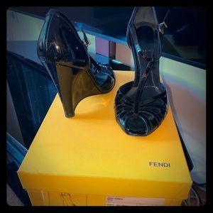 Classic Fendi Wedge Heels